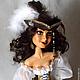 Коллекционные куклы ручной работы. Ярмарка Мастеров - ручная работа. Купить Пиратка. Handmade. Кукла ручной работы, папье-маше