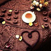Для дома и интерьера handmade. Livemaster - original item Plaid Happy heart. Handmade.