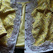 Пиджаки ручной работы. Ярмарка Мастеров - ручная работа жакет для особого случая из ткани gucci. Handmade.
