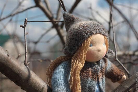 Оксана 33см .Вальдорфские куклы.Julia Solarrain (SolarDolls) Ярмарка Мастеров