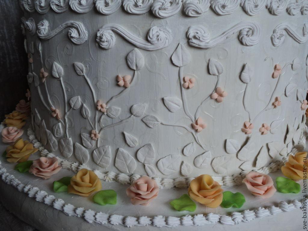 Муляж торта фото