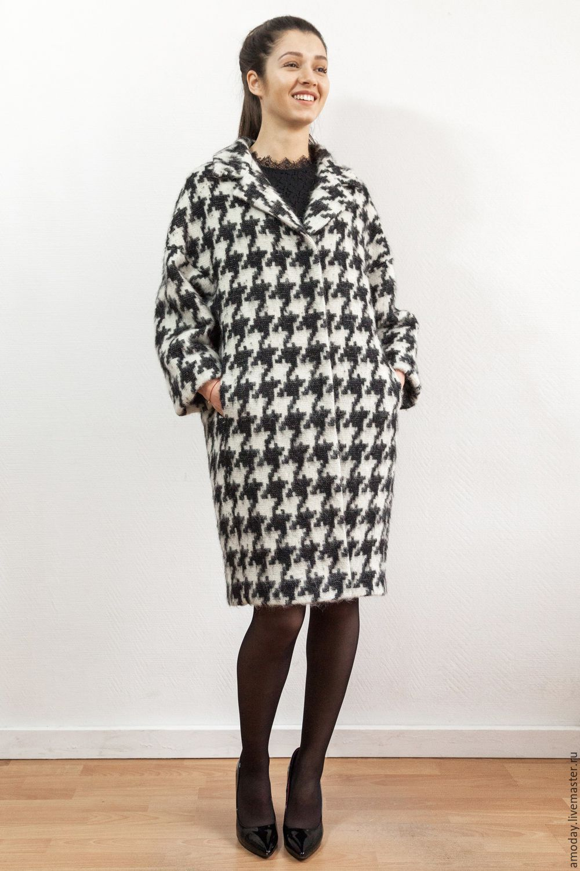Warm coat from designer fabrics with a NAP, Coats, Moscow,  Фото №1