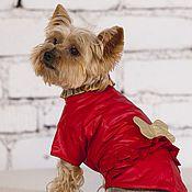 Для домашних животных, ручной работы. Ярмарка Мастеров - ручная работа Попона для собак  КОСТОЧКА. Handmade.
