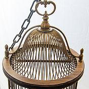 Винтаж ручной работы. Ярмарка Мастеров - ручная работа Клетка для птиц Papagallo бронза ручной работы раритет. Handmade.