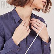 Одежда handmade. Livemaster - original item Blue linen