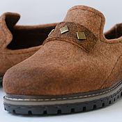 """Обувь ручной работы. Ярмарка Мастеров - ручная работа Туфли  лоферы женские """" Terracotta"""". Handmade."""