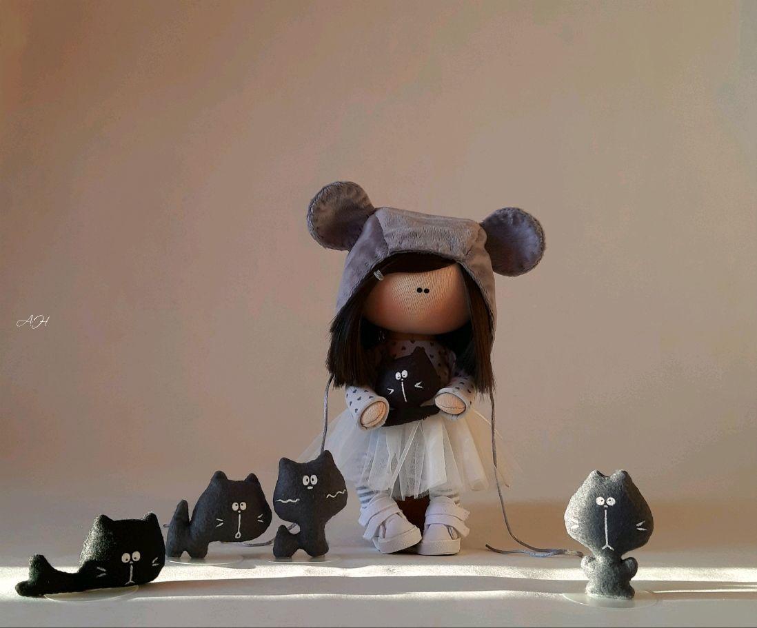 Кукла мышка, Тыквоголовка, Алексеевка,  Фото №1