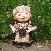 """Куклы и игрушки ручной работы. Ярмарка Мастеров - ручная работа """"Котеночка хотите?"""" Текстильная каркасная.. Handmade."""