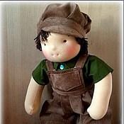 Куклы и игрушки ручной работы. Ярмарка Мастеров - ручная работа Вальдорфская кукла-мальчик 36-40 см. Handmade.