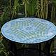 Столик с мозаичной столешницей - это оригинальный элемент в Вашем интерьере.