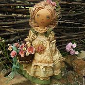 Куклы и игрушки ручной работы. Ярмарка Мастеров - ручная работа Розовые лета кружева.... Handmade.
