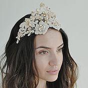 Свадебный салон ручной работы. Ярмарка Мастеров - ручная работа Карамельная корона. Handmade.