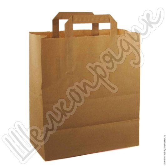 Упаковка ручной работы. Ярмарка Мастеров - ручная работа. Купить Крафт-пакет 28х24х14. Handmade. Крафт-пакет, упаковка, пакет