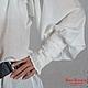 Блузки ручной работы. Блузка белая с отделкой кружевом (русский стиль). Нина Куликова. Интернет-магазин Ярмарка Мастеров. Однотонный