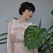 Одежда ручной работы. Ярмарка Мастеров - ручная работа Блузка Розовый пломбир. Handmade.