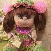Куклы и игрушки ручной работы. Ярмарка Мастеров - ручная работа Кукла в шляпке. Handmade.