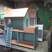"""Кукольные домики ручной работы. Ярмарка Мастеров - ручная работа Домик для кукол """"Двухэтажный с балконом"""". Handmade."""