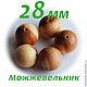 Можжевеловые бусины 28-30 мм в нашем магазине MirBusinok