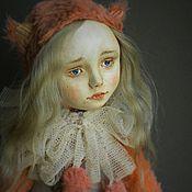 Куклы и игрушки ручной работы. Ярмарка Мастеров - ручная работа Тедди-долл Белочка. Handmade.
