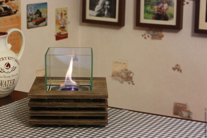 Wooden Tabletop Fireplace Ethanol Biofuel Portable Fireplace Shop