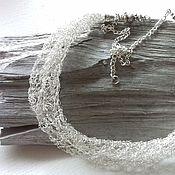 """Украшения ручной работы. Ярмарка Мастеров - ручная работа Колье """" Небесная река"""". Handmade."""