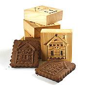 Для дома и интерьера ручной работы. Ярмарка Мастеров - ручная работа 01 Пресс для печенья и пряников домик. Handmade.