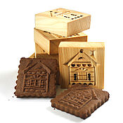 Для дома и интерьера handmade. Livemaster - original item Cutting for cookies and gingerbread house as a gift for a housewarming. Handmade.