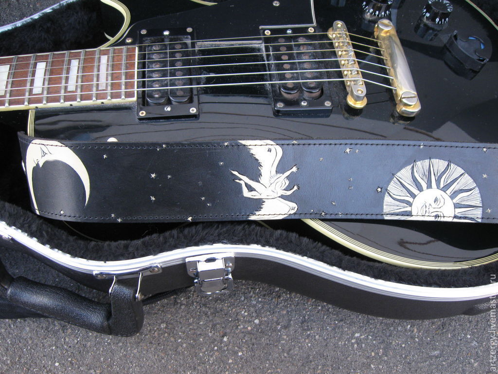 strap for electric guitar 'To the stars', Straps, Moscow,  Фото №1