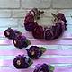 Свадебные украшения ручной работы. Браслеты на руку подружкам невесты. Творческая мастерская 'фАРТук'. Интернет-магазин Ярмарка Мастеров.