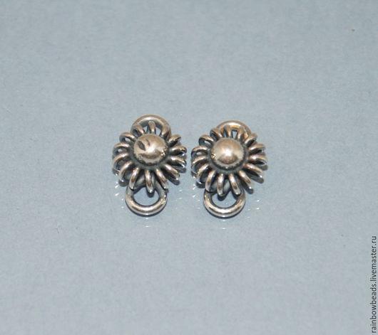 коннектор для украшений; фурнитура серебро; коннектор серебряный; серебро Бали; серебряная фурнитура