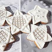 Сувениры и подарки handmade. Livemaster - original item Gingerbread Christmas star.Culinary souvenir handmade.. Handmade.