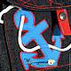 """Одежда для мальчиков, ручной работы. Ярмарка Мастеров - ручная работа. Купить Комплект """"Море - море..."""". Handmade. Аппликация, джинс"""