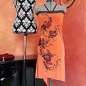 Одежда ручной работы. Ярмарка Мастеров - ручная работа Оранжевое. Handmade.