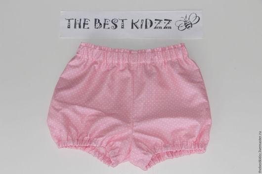 Одежда для девочек, ручной работы. Ярмарка Мастеров - ручная работа. Купить Шортики-блумеры Розовые. Handmade. Розовый, шортики