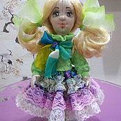 Куклы и пупсы ручной работы. Ярмарка Мастеров - ручная работа Куклы: Текстильная кукла Даша. Handmade.