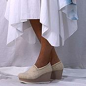 Обувь ручной работы. Ярмарка Мастеров - ручная работа Летние туфли. Handmade.
