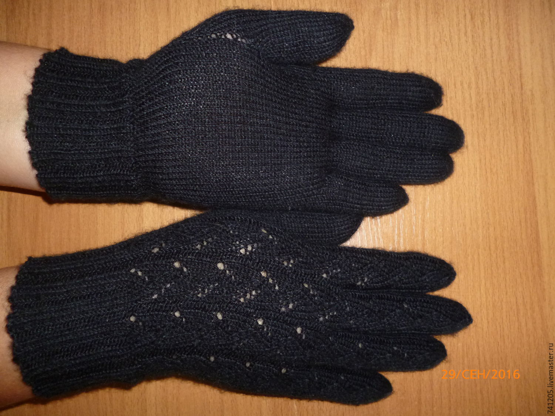 Связать перчатки на заказ