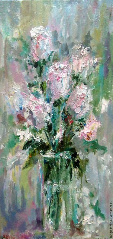 `Нежность` - картина маслом, цветы