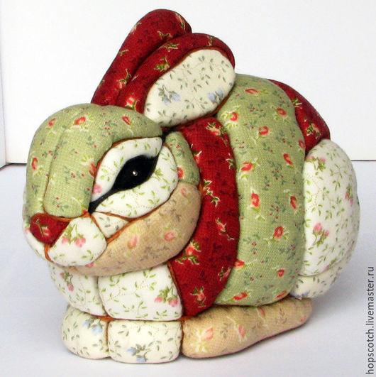 Статуэтки ручной работы. Ярмарка Мастеров - ручная работа. Купить Заяц. Handmade. Разноцветный, подарок, пенопласт