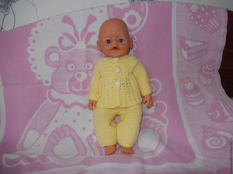 Одежда для кукол ручной работы. Ярмарка Мастеров - ручная работа. Купить Костюм для Беби Бон. Handmade. Лимонный