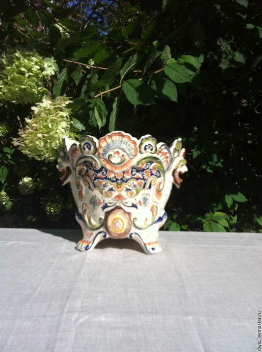 Винтажные предметы интерьера. Ярмарка Мастеров - ручная работа. Купить Кашпо для цветов, Mont -Saint -Michel, ручная работа, Франция. Handmade.