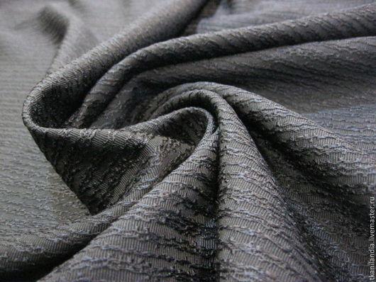 Шитье ручной работы. Ярмарка Мастеров - ручная работа. Купить Итальянская вышитая шерсть.. Handmade. Тёмно-синий, натуральная шерсть