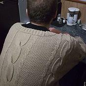 """Свитеры ручной работы. Ярмарка Мастеров - ручная работа Свитер вязаный из культового фильма""""Брат"""". Handmade."""