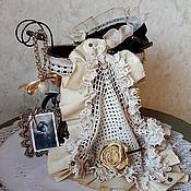 """Куклы и игрушки ручной работы. Ярмарка Мастеров - ручная работа """"ДАМА с КАМЕЛИЯМИ"""" декорирование коляски. Handmade."""