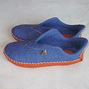 """Обувь ручной работы. Ярмарка Мастеров - ручная работа Тапочки """"Сафари"""". Handmade."""