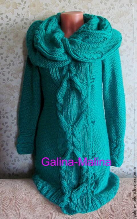 Outer Clothing handmade. Livemaster - handmade. Buy Coat knitted.Handmade, custom, knitting to order, coat handmade