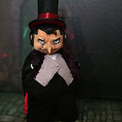 Куклы и игрушки handmade. Livemaster - original item Evil Mr Cobblepot, Penguin from comics, interior art toy. Handmade.
