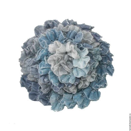 Шарфы и шарфики ручной работы. Ярмарка Мастеров - ручная работа. Купить Шарф ажурный. Handmade. Шарф, голубой, бохо, рыжий