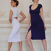 Одежда ручной работы. Ярмарка Мастеров - ручная работа Платье со стазами. Handmade.
