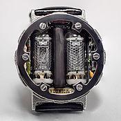 Часы наручные ручной работы. Ярмарка Мастеров - ручная работа Часы на газоразрядном индикаторе в стиле Артёма из Метро 2033. Handmade.